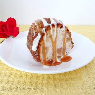 2 Ingredient Apple Angel Food Cake Joyful Homemaking