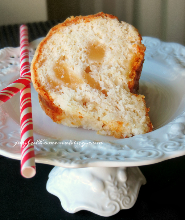 2 Ingredient Apple Angel Food Cake Joyful Homemaking