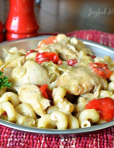 , Crockpot Butter and Ranch Chicken, Joyful Homemaking