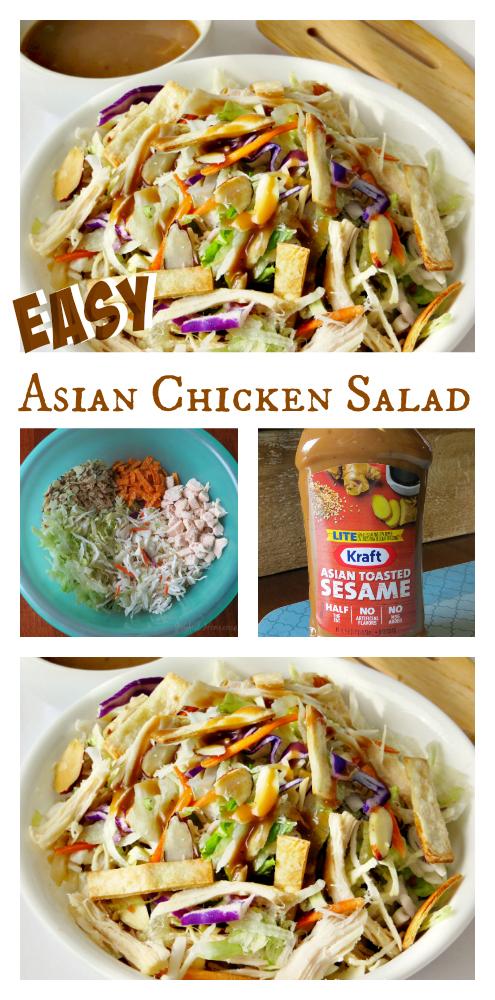 Asian Chicken Salad, Asian Chicken Salad, Joyful Homemaking