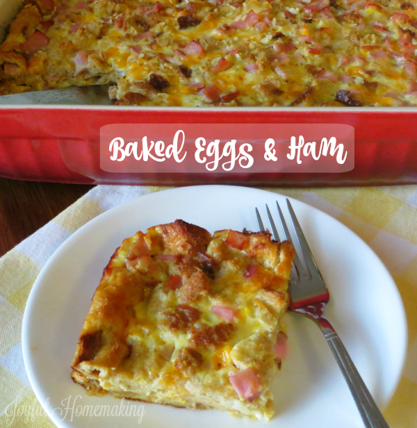 Baked Egg and Ham Casserole
