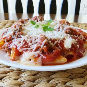 Easy Baked Pasta Casserole, Joyful Homemaking