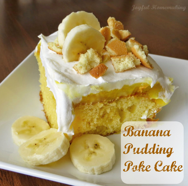 banana pudding poke cake2