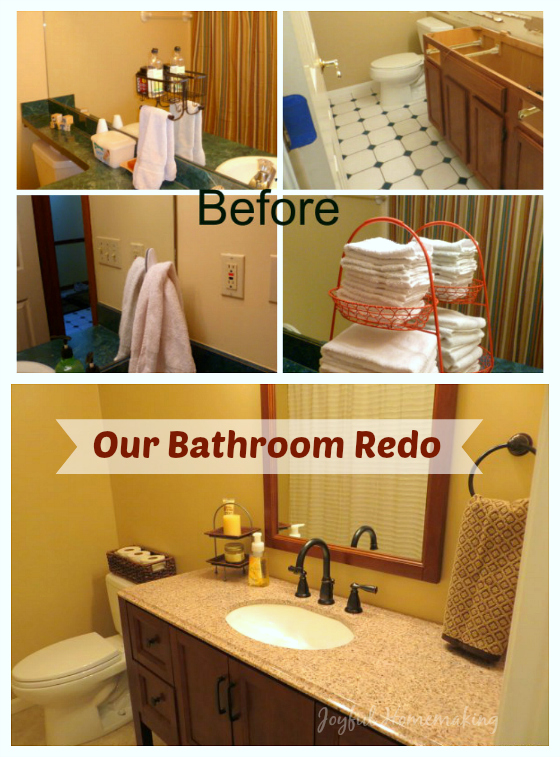 bathroom redo