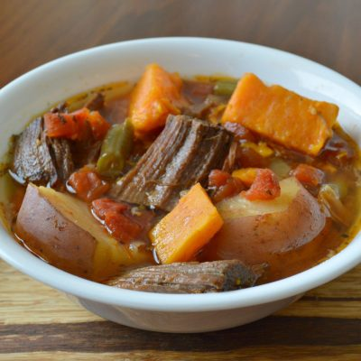 Crockpot Beef and Sweet Potato Stew