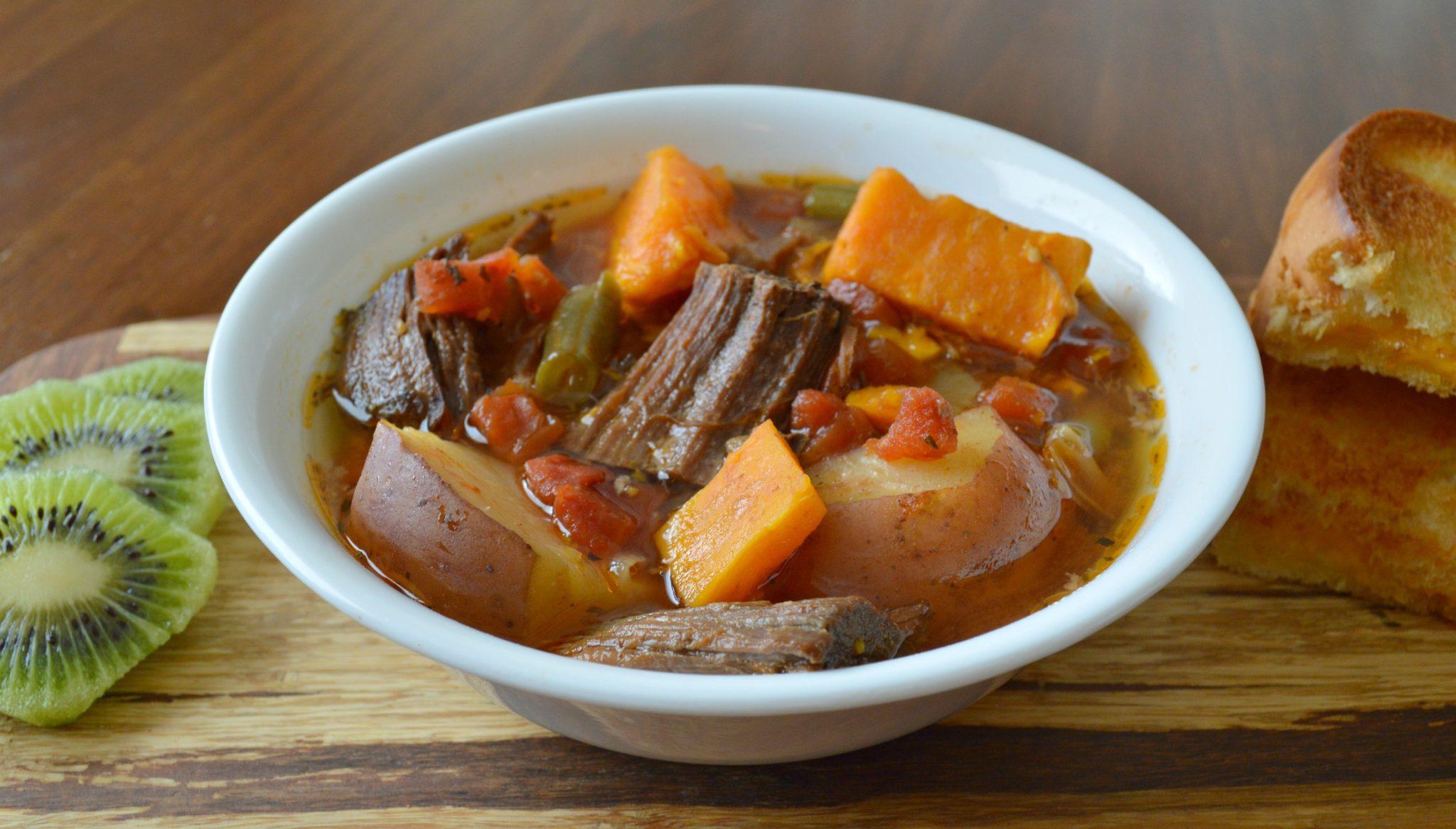 Crockpot Beef and Sweet Potato Stew