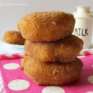 biscuit doughnuts, Quick and Easy Doughnuts, Joyful Homemaking