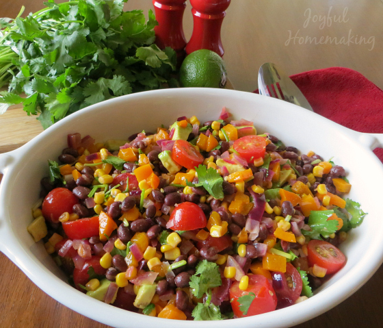 black bean salad92