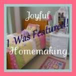 ", Welcome to ""Think Tank Thursday"" #40, Joyful Homemaking"