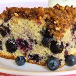 Scrumptious Blueberry Coffee Cake