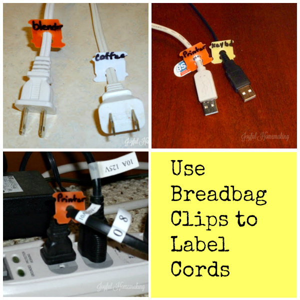 breadbag clips label cords