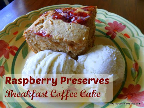 breakfast raspberry cake