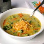 cheddar broccoli soup, Easy Cheddar Broccoli Soup,