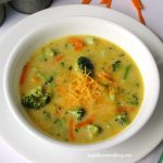 Easy Cheddar Broccoli Soup