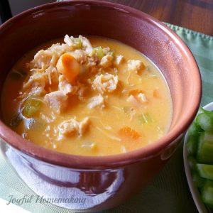 Buffalo Chicken Soup, Buffalo Chicken Soup, Joyful Homemaking