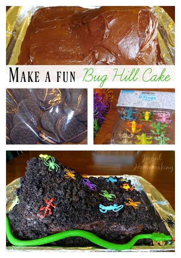 bug hill cake, Bug Hill Cake, Joyful Homemaking