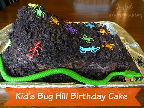 bug hill cake