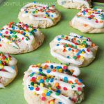 Cake Mix Confetti Cookies