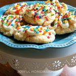 Cake Mix Confetti Cookies, Cake Mix Confetti Cookies,