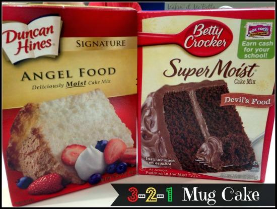 cake mix for mug cake