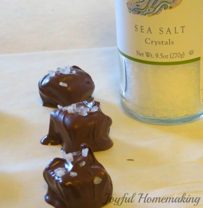homemade chocolate covered caramels, Chocolate Covered Caramels, Joyful Homemaking