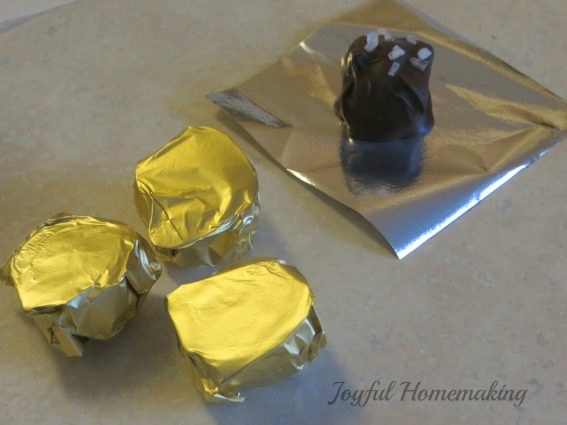 Semi Homemade Chocolate Caramels