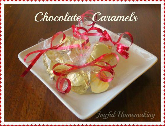 Semi Homemade Chocolate Caramels
