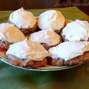 carrot cake cookies, EASY Carrot Cake Cookies,