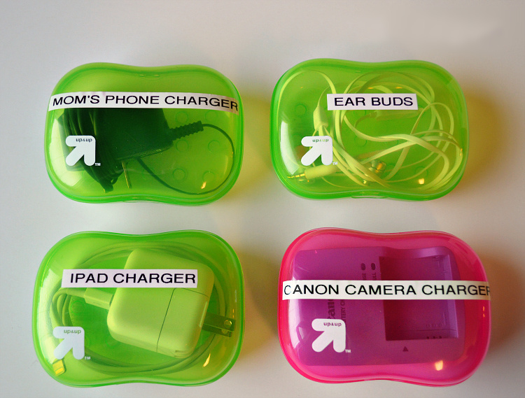 Organize Your Chargers and Cords