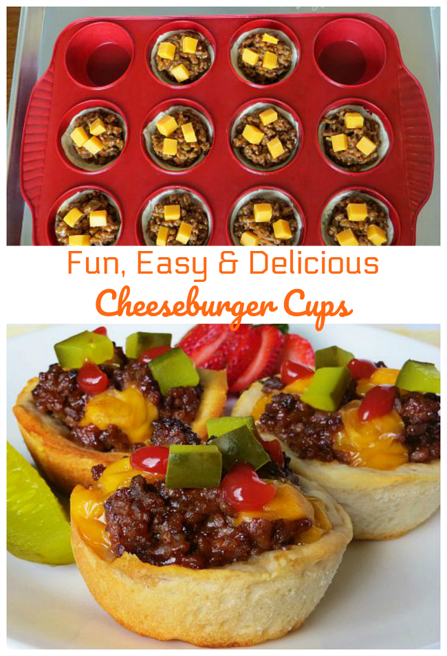 Cheeseburger Cups