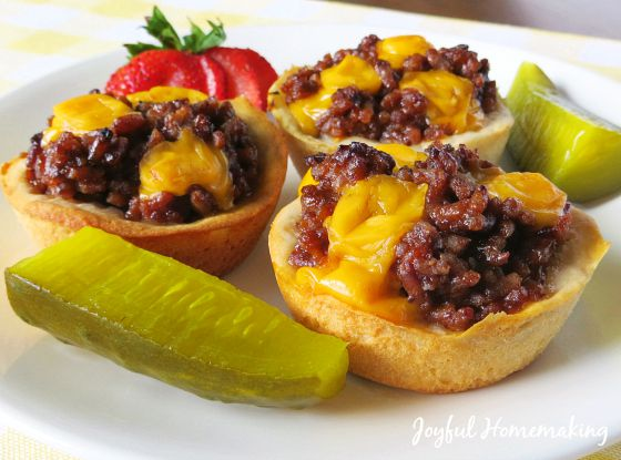 cheeseburger cups95
