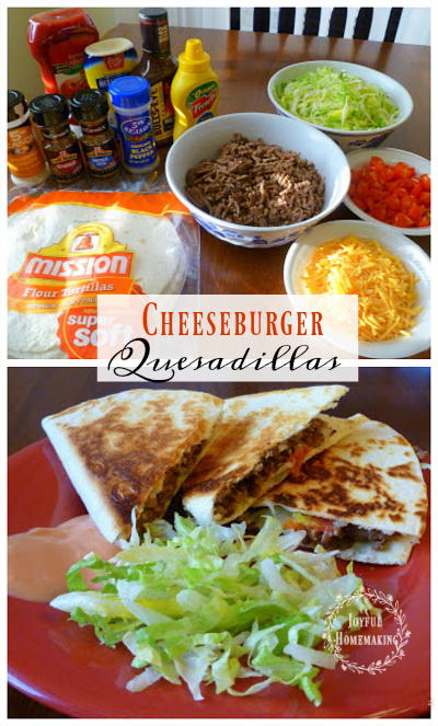 cheeseburger-quesadillas