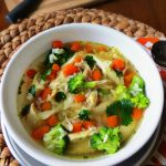 chicken rice soup, Fast and Easy Chicken Soup,