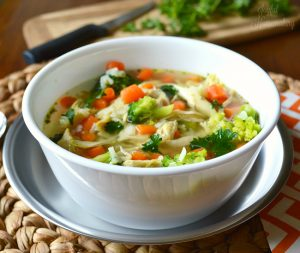 chicken and rice soup 5