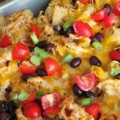 chicken nachos slider