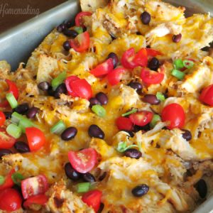 chicken nachos, Nachos, Joyful Homemaking