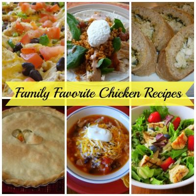My Family's Favorite Chicken Recipes