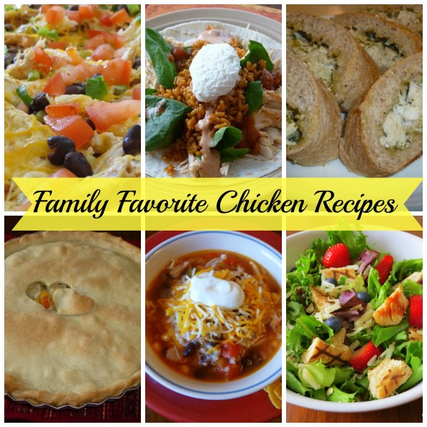 My Family's Favorite Chicken Recipes, My Family's Favorite Chicken Recipes, Joyful Homemaking
