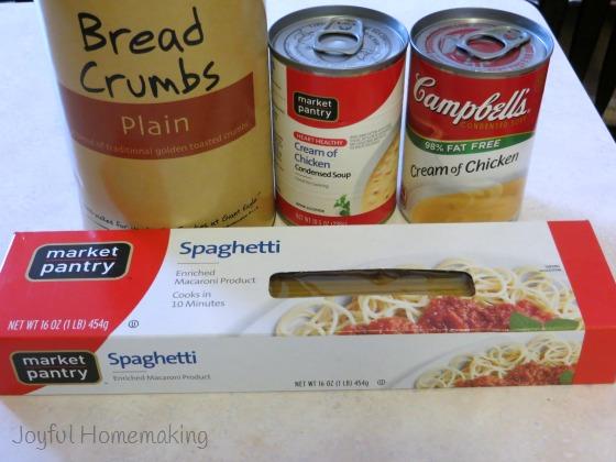 chicken spaghetti casserole2