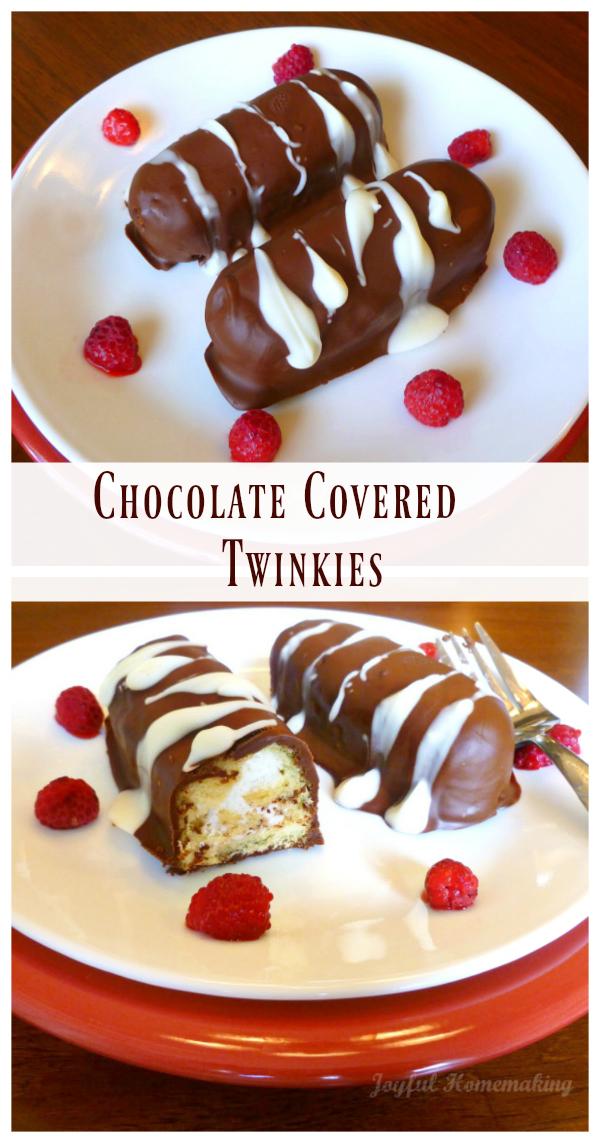 chocolate covered twinkies, Chocolate Covered Twinkies, Joyful Homemaking