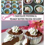 chocolate peanut butter frozen dessert, Chocolate Peanut Butter Frozen Dessert,