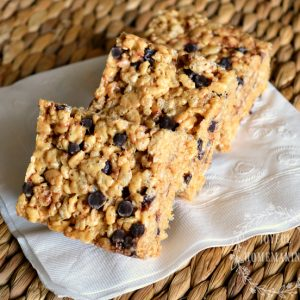 Peanut Butter Rice Crispy Treats, Joyful Homemaking