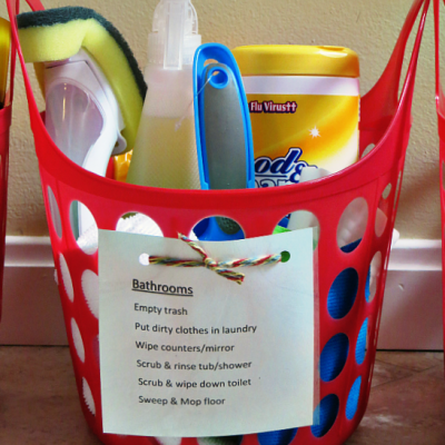 Chore Kits with Printable
