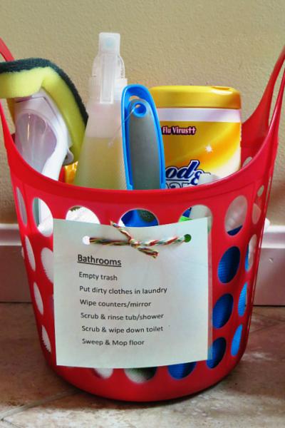 , Chore Chart, Joyful Homemaking