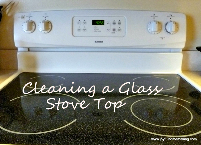 Clean a Glass Stovetop