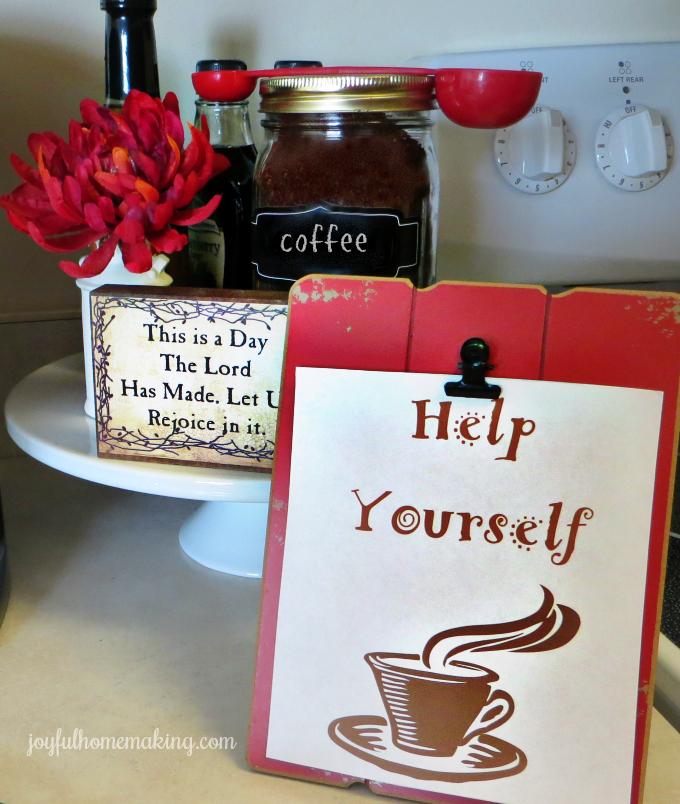 Joyful Homemaking Free Resource Library, Joyful Homemaking
