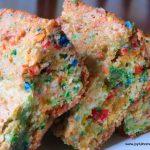 Cake Mix Confetti Blondies