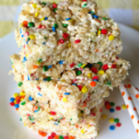 Confetti Rice Crispy Treats