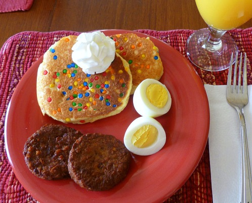 confetti pancakes dinner ideas for the week