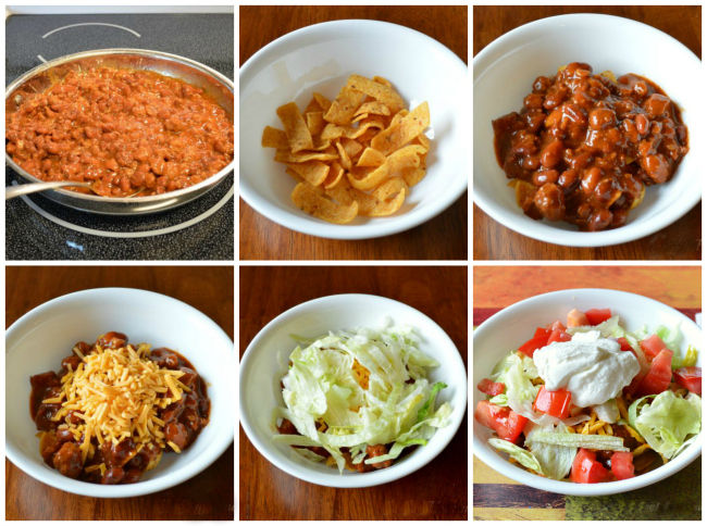 frito chili bowl, Corn Chip Chili Bowl, Joyful Homemaking